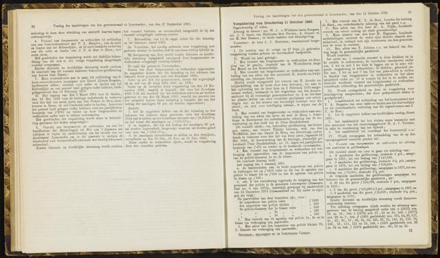 Raadsverslagen van de gemeente Leeuwarden, 1865-2007 (Notulen) 1883-10-11