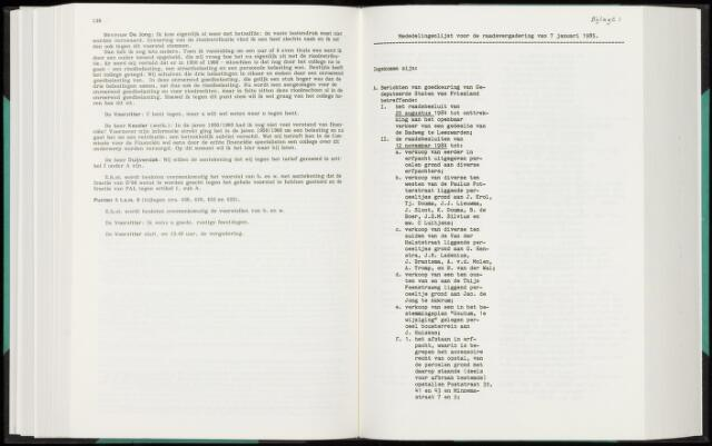 Raadsverslagen van de gemeente Leeuwarden, 1865-2007 (Bijlagen) 1985-01-01