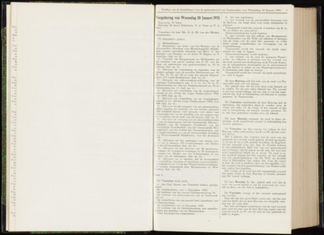 Raadsverslagen van de gemeente Leeuwarden, 1865-2007 (Notulen) 1951
