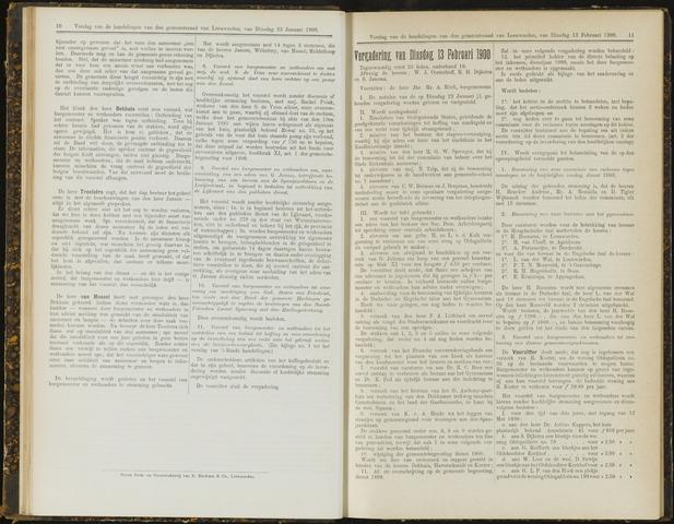 Raadsverslagen van de gemeente Leeuwarden, 1865-2007 (Notulen) 1900-02-13