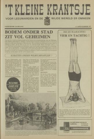 't Kleine Krantsje, 1964-1997 1978-07-01