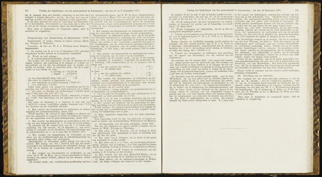 Raadsverslagen van de gemeente Leeuwarden, 1865-2007 (Notulen) 1877-09-13