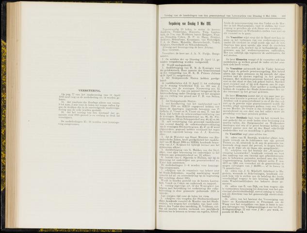 Raadsverslagen van de gemeente Leeuwarden, 1865-2007 (Notulen) 1916-05-09