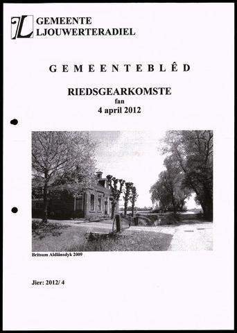 Notulen van de gemeenteraad van Leeuwarderadeel 2012-04-04