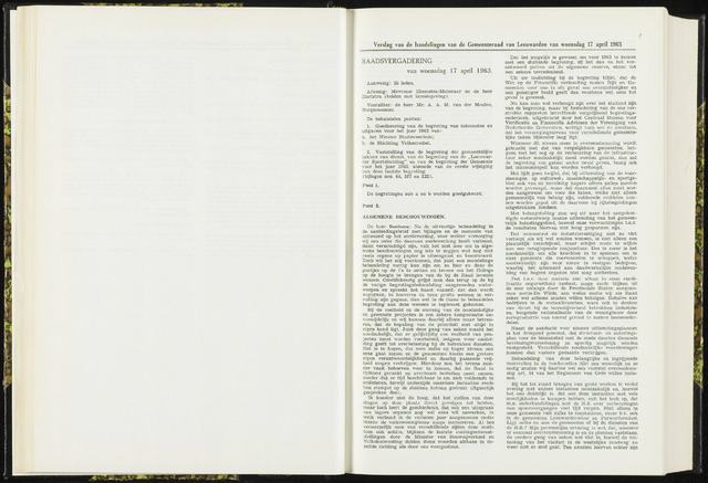 Raadsverslagen van de gemeente Leeuwarden, 1865-2007 (Notulen) 1963-04-17