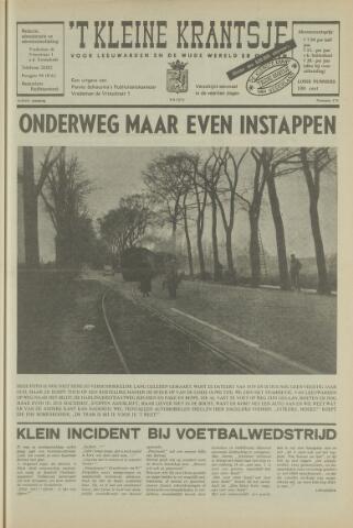 't Kleine Krantsje, 1964-1997 1972-09-09