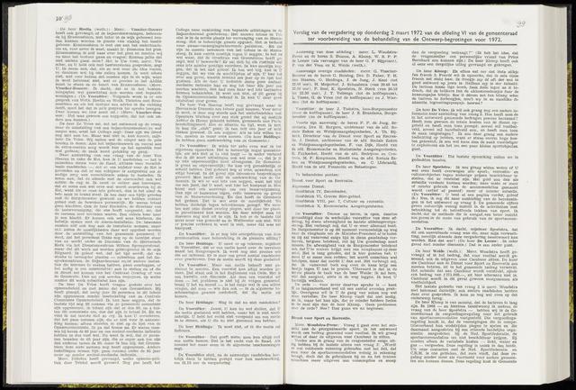 Raadsverslagen van de gemeente Leeuwarden, 1865-2007 (Notulen) 1972-03-02