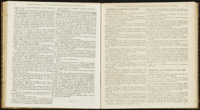 Raadsverslagen van de gemeente Leeuwarden, 1865-2007 (Notulen) 1880-06-05