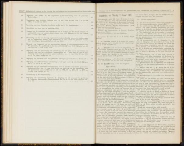 Raadsverslagen van de gemeente Leeuwarden, 1865-2007 (Notulen) 1912