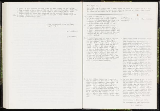 Raadsverslagen van de gemeente Leeuwarden, 1865-2007 (Schriftelijke vragen) 1977-01-01