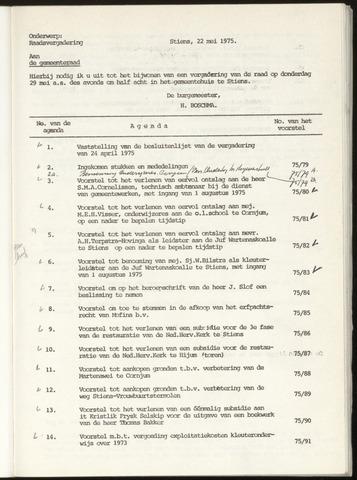 Notulen van de gemeenteraad van Leeuwarderadeel 1975-04-24