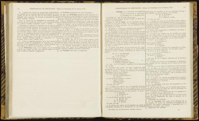 Raadsverslagen van de gemeente Leeuwarden, 1865-2007 (Notulen) 1870-11-10