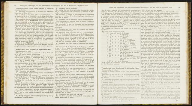 Raadsverslagen van de gemeente Leeuwarden, 1865-2007 (Notulen) 1879-09-02
