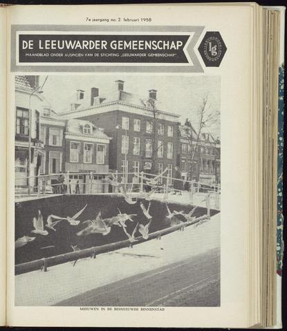 Leeuwarder Gemeenschap 1958-02-01