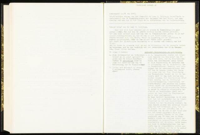 Raadsverslagen van de gemeente Leeuwarden, 1865-2007 (Schriftelijke vragen) 1966