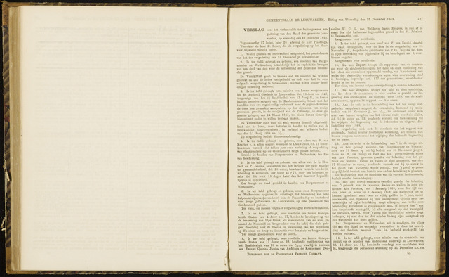 Raadsverslagen van de gemeente Leeuwarden, 1865-2007 (Notulen) 1868-12-23