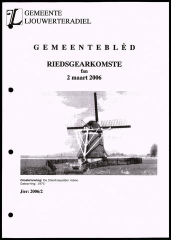 Notulen van de gemeenteraad van Leeuwarderadeel 2006-03-02