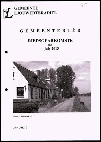 Notulen van de gemeenteraad van Leeuwarderadeel 2013-07-04