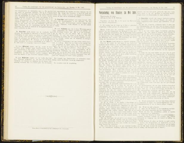 Raadsverslagen van de gemeente Leeuwarden, 1865-2007 (Notulen) 1898-05-24