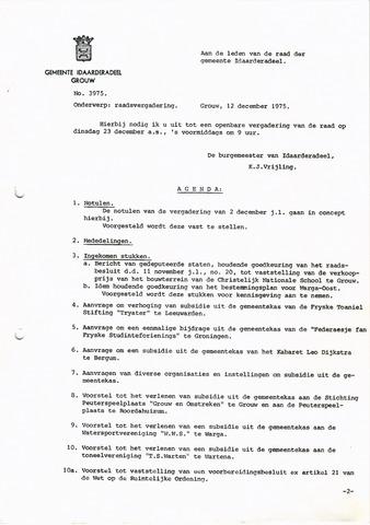 raadsverslagen Idaarderadeel 1935-1983 1975-12-23