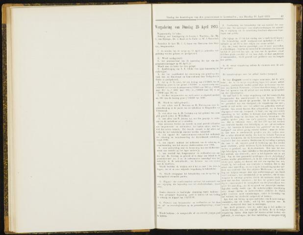 Raadsverslagen van de gemeente Leeuwarden, 1865-2007 (Notulen) 1893-04-25