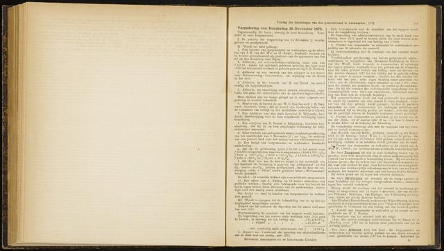 Raadsverslagen van de gemeente Leeuwarden, 1865-2007 (Notulen) 1872-11-28
