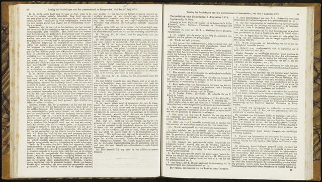 Raadsverslagen van de gemeente Leeuwarden, 1865-2007 (Notulen) 1878-08-08
