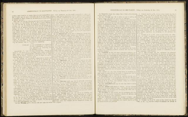 Raadsverslagen van de gemeente Leeuwarden, 1865-2007 (Notulen) 1865-12-28
