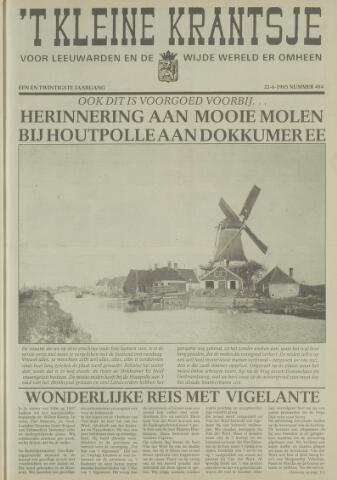 't Kleine Krantsje, 1964-1997 1985-06-22