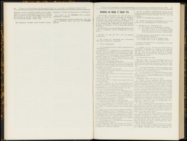 Raadsverslagen van de gemeente Leeuwarden, 1865-2007 (Notulen) 1924-02-12