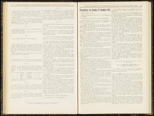 Raadsverslagen van de gemeente Leeuwarden, 1865-2007 (Notulen) 1898-12-27