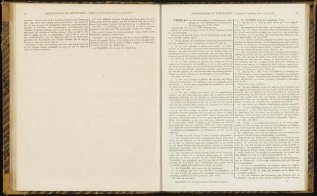 Raadsverslagen van de gemeente Leeuwarden, 1865-2007 (Notulen) 1869-05-08
