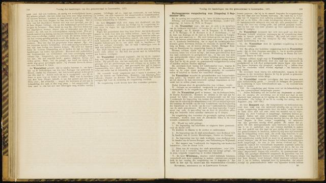 Raadsverslagen van de gemeente Leeuwarden, 1865-2007 (Notulen) 1871-09-05