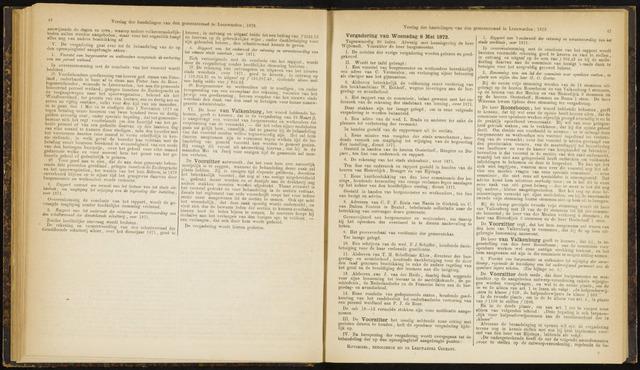 Raadsverslagen van de gemeente Leeuwarden, 1865-2007 (Notulen) 1872-05-08
