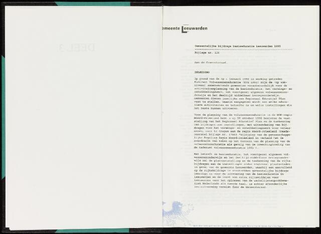 Raadsverslagen van de gemeente Leeuwarden, 1865-2007 (Bijlagen) 1995-01-01