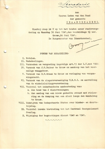 raadsverslagen Idaarderadeel 1935-1983 1941-06-30