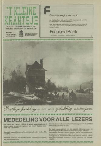 't Kleine Krantsje, 1964-1997 1987-12-01