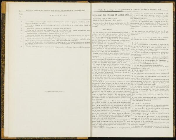 Raadsverslagen van de gemeente Leeuwarden, 1865-2007 (Notulen) 1893