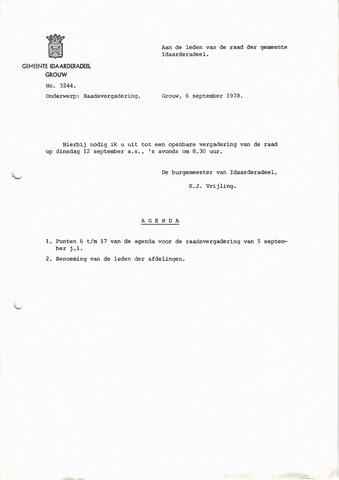 raadsverslagen Idaarderadeel 1935-1983 1978-09-12
