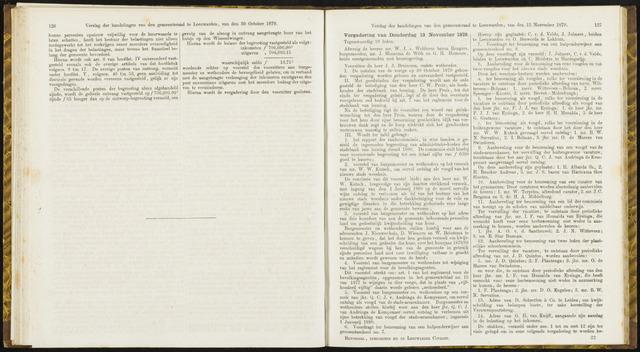 Raadsverslagen van de gemeente Leeuwarden, 1865-2007 (Notulen) 1879-11-13
