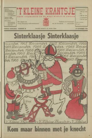 't Kleine Krantsje, 1964-1997 1965-11-24