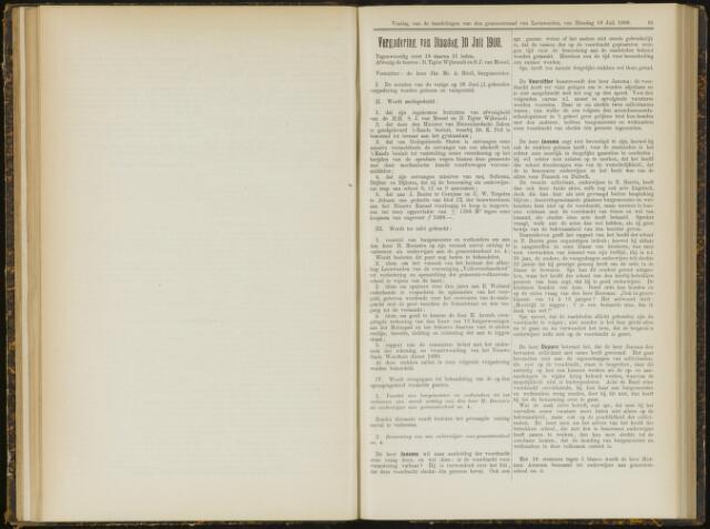 Raadsverslagen van de gemeente Leeuwarden, 1865-2007 (Notulen) 1900-07-10