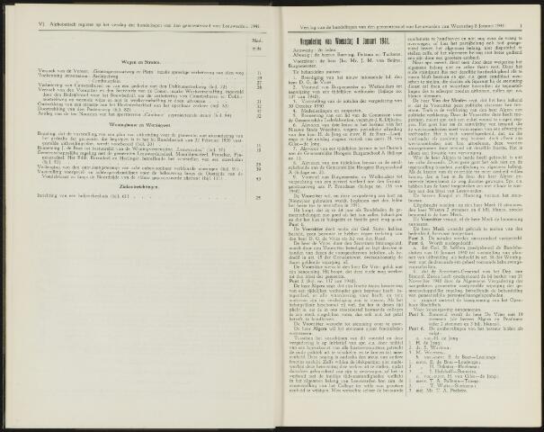 Raadsverslagen van de gemeente Leeuwarden, 1865-2007 (Notulen) 1941