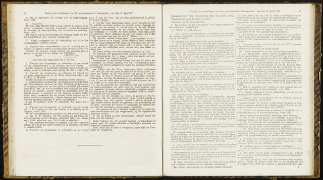 Raadsverslagen van de gemeente Leeuwarden, 1865-2007 (Notulen) 1877-04-26