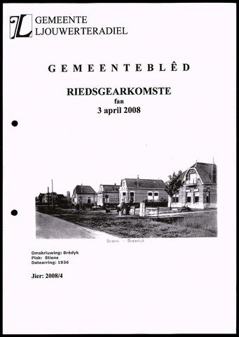 Notulen van de gemeenteraad van Leeuwarderadeel 2008-04-03