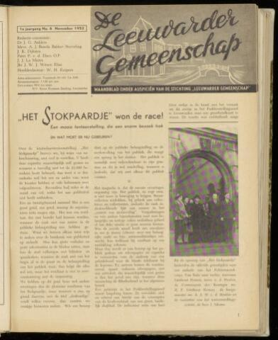 Leeuwarder Gemeenschap 1952-11-01