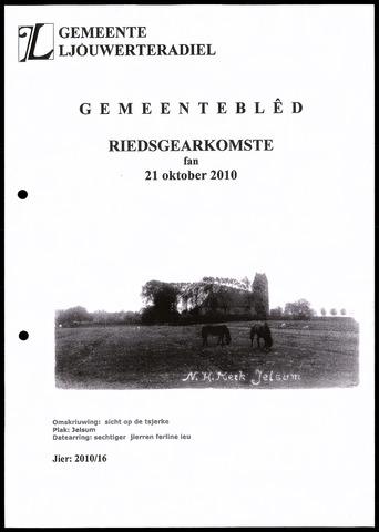 Notulen van de gemeenteraad van Leeuwarderadeel 2010-10-21