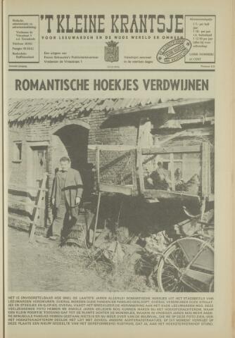 't Kleine Krantsje, 1964-1997 1970-12-12