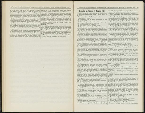 Raadsverslagen van de gemeente Leeuwarden, 1865-2007 (Notulen) 1940-09-18