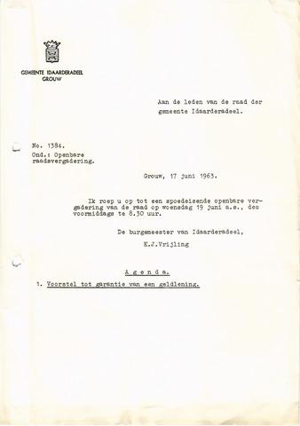 raadsverslagen Idaarderadeel 1935-1983 1963-06-19